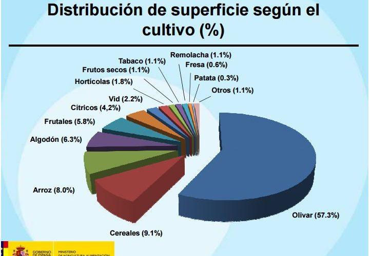 Estadísticas producción integrada (Cultivos, Has y CCAA)